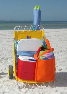 Utilacart Beach Cart