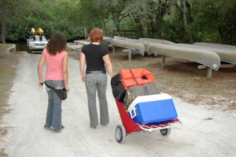 Haul Camping Gear With Ease with A Utilacart Camping Cart