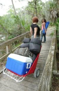 Utilacart Camping Cart